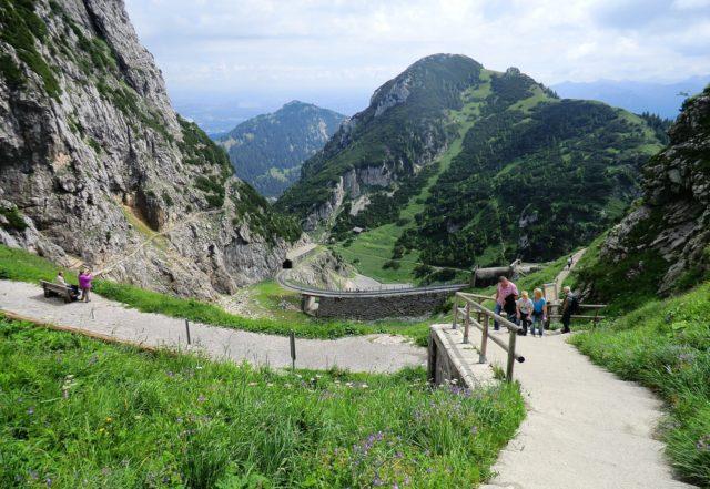 Wandern am Wendelstein in Bayern